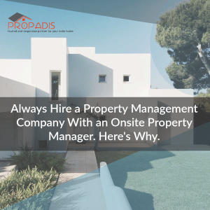 need for property manager